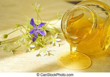 miel, flujo