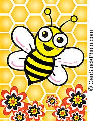 miel, pur, abeille