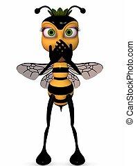 miel, toon, abeja