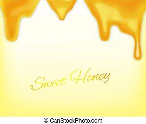 miele, sgocciolatura