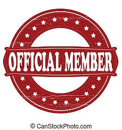 miembro, funcionario