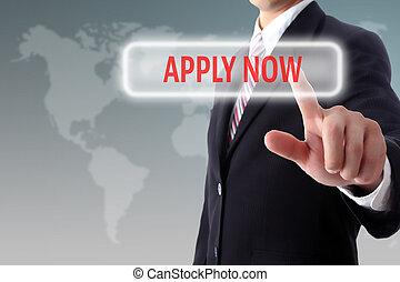 miembro, nuestro, ahora, registro, aplicar