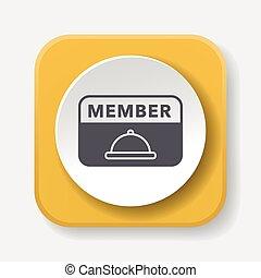 miembro, tarjeta