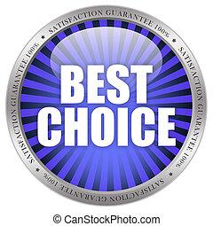 mieux, choix, icône