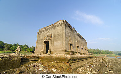 mieux, de, voyage, emplacement, dans, ancien, temple, muang, badan, (underworld), dans, sangkhlaburi?