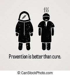 mieux, remède, que, prévention