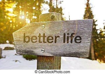 mieux, vie, piste