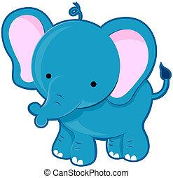 mignon, éléphant