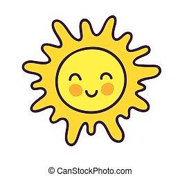 mignon, c, sun., heureux