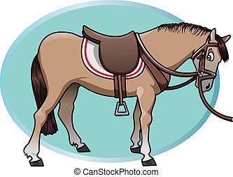 mignon, cheval