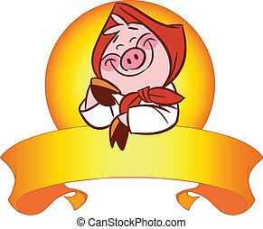 mignon, cochon