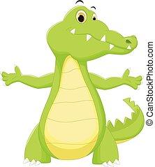 Mignon dessin anim crocodile mignon dessin anim illustration crocodile - Dessin anime crocodile ...