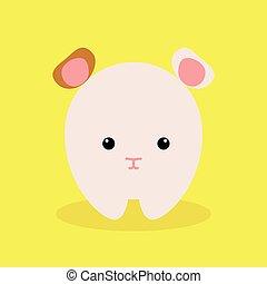 Rigolote hamster dessin anim isol rigolote isol - Hamster dessin anime ...