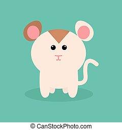 Mignon dessin anim hamster mignon illustration - Hamster dessin anime ...