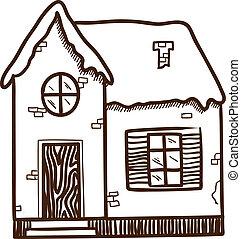 mignon, house., hiver
