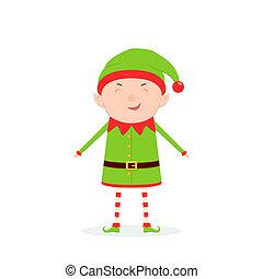 mignon, peu, elfe