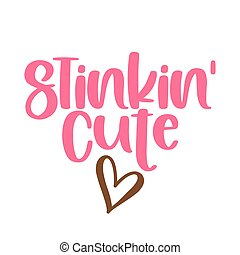 mignon, puer, -, texte, vêtements, adorable, étiquette, bébé, sassy