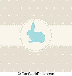 mignon, résumé, lapin pâques, carte