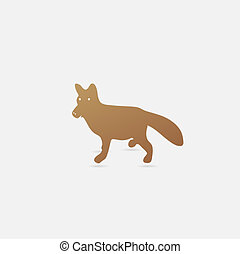 Tr s mignon renard illustration clip art vectoriel - Renard mignon ...
