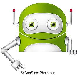 mignon, robot