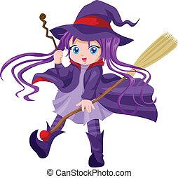 mignon, sorcière