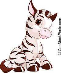 mignon, zebra