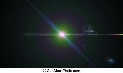 migotać, 4k, soczewka, światła, tło, 3840x2160, anamorphic