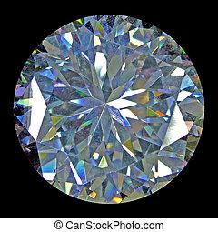 migotać, diament