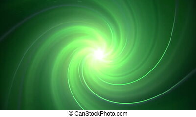 migotać, wystawiać, zielony, kręćcie
