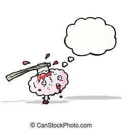 migraine, dessin animé