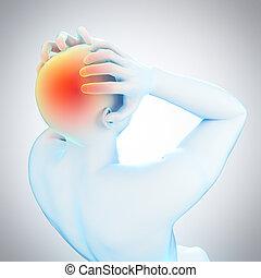 migrena, headache/
