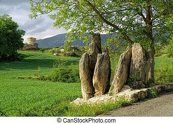 Mijaraluenga Menhir in Spain, Castile