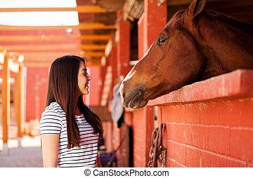 mijn, het behouden, paarde, enig, bedrijf