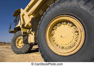 mijnbouw truck