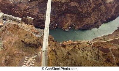 mike callaghan-pat tillman bridge, grand canyon - landscape...
