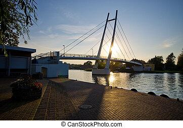 Mikolajki - capital of Masurian region, Poland - Mikolajki -...