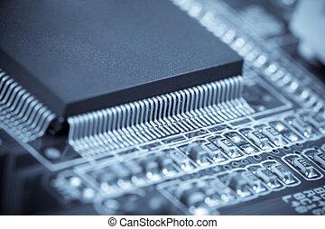 mikrochip, makro