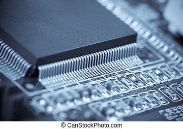 mikrochips, makro