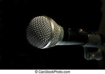 mikrofon, dźwiękowy