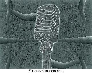 mikrofon, háttér