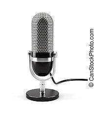 mikrofon, isolerat