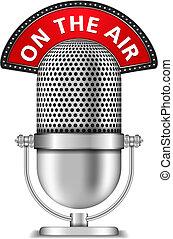 mikrofon, v rozhlase