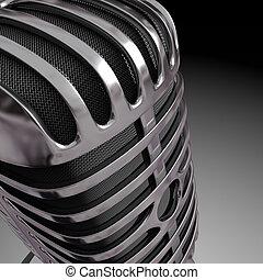 mikrophon, klassisch