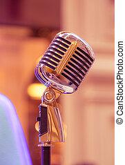 Mikrophon,  retro