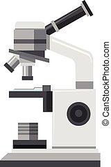 mikroskop, běloba grafické pozadí