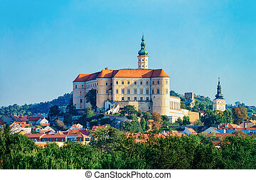 Mikulov Castle at South Moravia