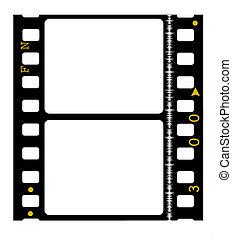 milímetros, película, 35, película