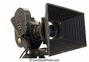 milímetros, película, cámara., 35, profesional