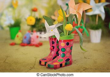 milagro, botas