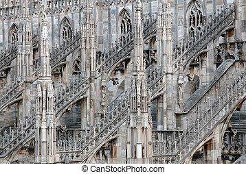 Milan Cathedral (Duomo) - Italy - Milan Cathedral (Duomo di ...